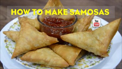 Chicken Samosa | Cook with Anisa