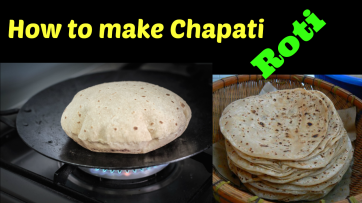 How to make Chapati (Roti)