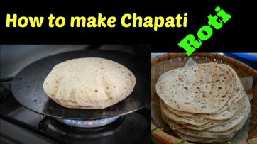 How to make Chapati (Roti)