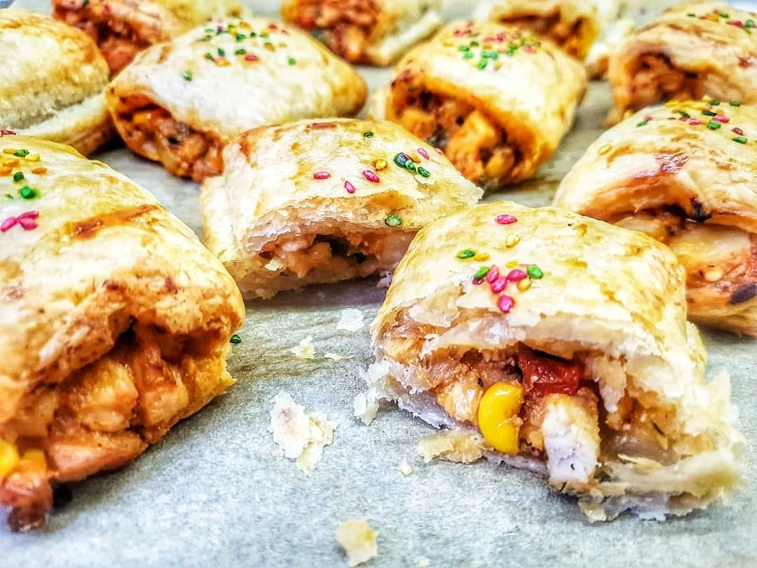 Chicken and Potato Pastry