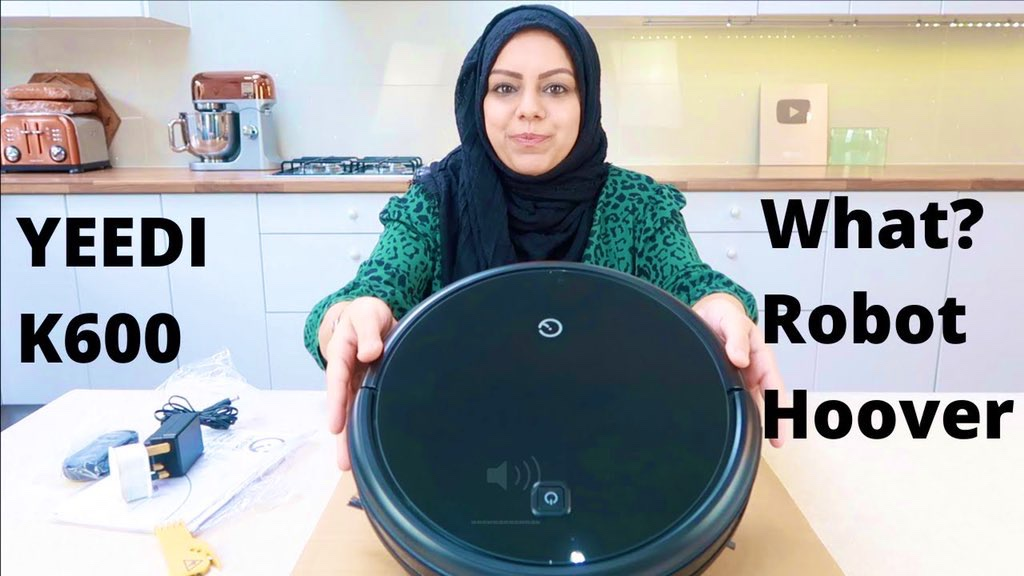 Yeedi K600 Robot Hoover. Wait what!? | Cook with Anisa | Anisagrams